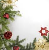 Декоративная задняя часть рождества Стоковые Фотографии RF