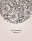 Декоративная иллюстрация цветка Стоковые Фотографии RF