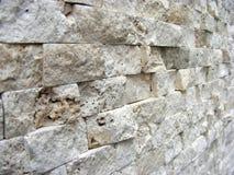 декоративная каменная стена Стоковая Фотография