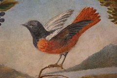 Декоративная картина в Риме стоковая фотография