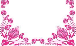 декоративная картина цветков Стоковое Изображение
