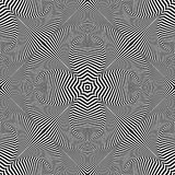 декоративная картина Striped линии текстура Стоковое Изображение RF