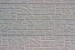 Декоративная кирпичная стена как предпосылка или текстура Стоковое Изображение RF
