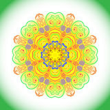 Декоративная красочная мандала Стоковое Фото