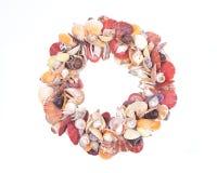Декоративная крона сделанная seashells Стоковое Изображение RF