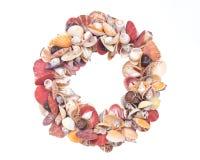 Декоративная крона сделанная seashells Стоковая Фотография