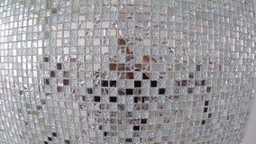 Декоративная мозаика зеркала для интерьера и комната конструируют сток-видео