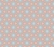 Декоративная орнаментальная безшовная картина Текстура предпосылки вектора Стоковые Фото