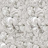 Декоративная орнаментальная безшовная картина Стоковая Фотография