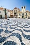 Декоративная площадь мозаики Стоковое Изображение