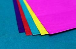 Декоративная покрашенная бумага Стоковые Изображения RF