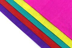 Декоративная покрашенная бумага Стоковое Изображение RF