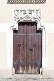 Декоративная портальная боковая дверь, ткань Hall, Краков, Польша Стоковое Изображение RF