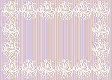 декоративная праздничная рамка цветков иллюстрация вектора