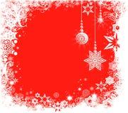 Декоративная предпосылка зимы Стоковая Фотография RF