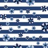 Декоративная предпосылка нашивки цветков Стоковые Фотографии RF