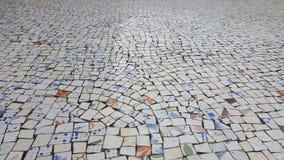 Декоративная предпосылка сломленных плиток мозаики стоковое фото