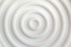 Декоративная предпосылка стены белого цемента абстрактных волн Стоковые Изображения
