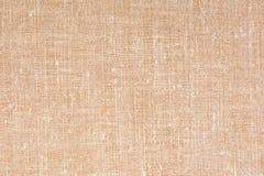 Декоративная предпосылка текстуры ткани холста, конец вверх Стоковое Изображение RF
