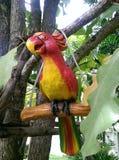 Декоративная птица в саде Стоковые Изображения