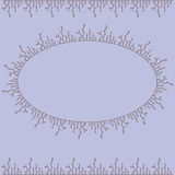 Декоративная рамка вектора Стоковое Изображение