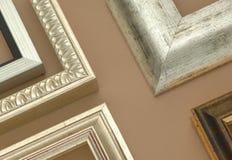 декоративная рамка деревянная Стоковое фото RF