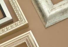 декоративная рамка деревянная Стоковые Фотографии RF