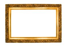 декоративная рамка старая Стоковое фото RF