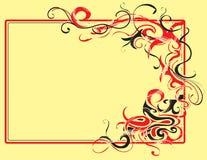 декоративная рамка Стоковые Изображения RF