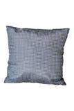 Декоративная серебряная изолированная подушка Стоковая Фотография RF