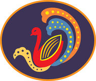 декоративная утка Стоковые Фотографии RF