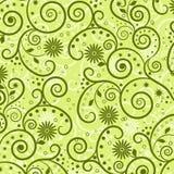 декоративная флористическая картина Стоковая Фотография RF