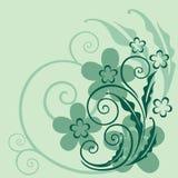 Декоративная флористическая предпосылка Стоковые Изображения RF
