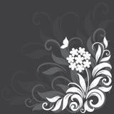 Декоративная флористическая предпосылка Стоковое фото RF