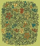 Декоративная флористическая предпосылка Стоковое Фото