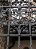 Декоративная часть загородки в замке Wawel в Cracow Стоковое фото RF