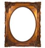 декоративное изображение картины золота рамки Стоковое Изображение RF
