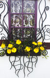 декоративное окно Стоковая Фотография
