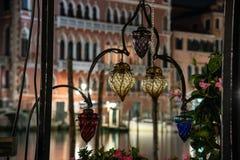 Декоративное освещение в antiqued стекле стоковое изображение rf