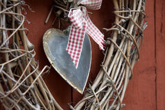 декоративное сердце Стоковое Изображение
