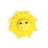 Декоративное смешное солнце Стоковое Изображение
