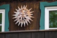 Декоративное солнце Стоковое Изображение