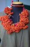 Декоративное украшение рябины стоковая фотография