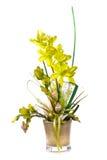 Декоративное флористическое Стоковые Изображения RF