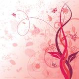 декоративное флористическое Стоковая Фотография RF