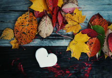 Декоративное handmade сердце Стоковые Изображения RF