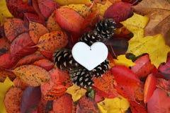 Декоративное handmade сердце Стоковая Фотография