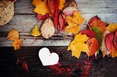 Декоративное handmade сердце Стоковое Фото