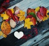Декоративное handmade сердце Стоковое Изображение