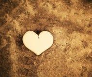 Декоративное handmade сердце Стоковое фото RF